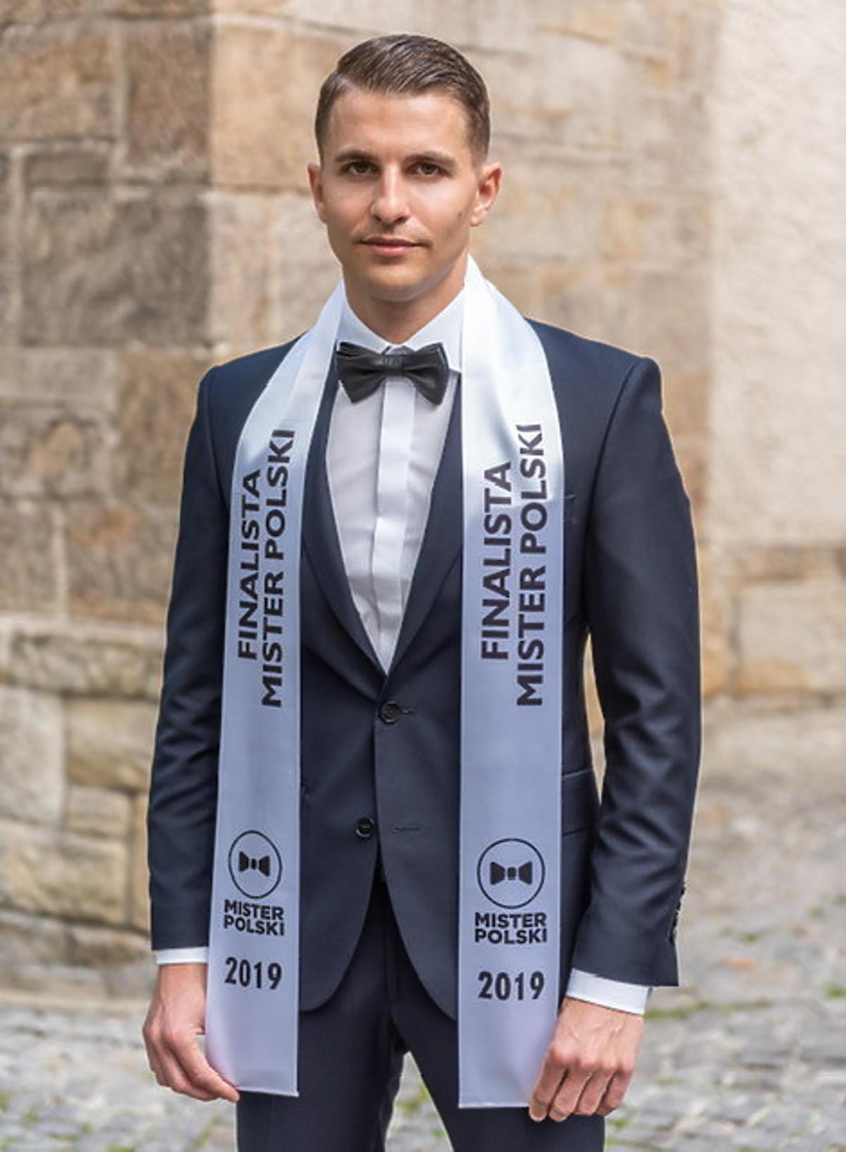 Jan Pyrek w konkursie Mister Polski