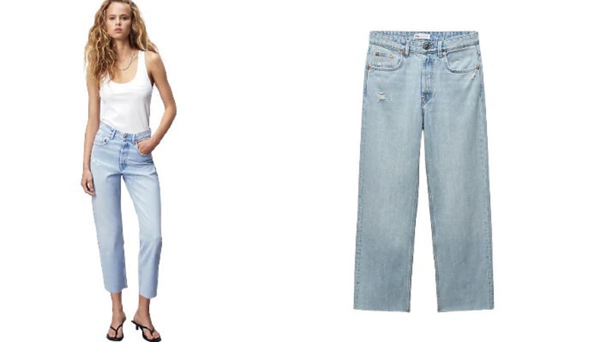 jeansy z Zary