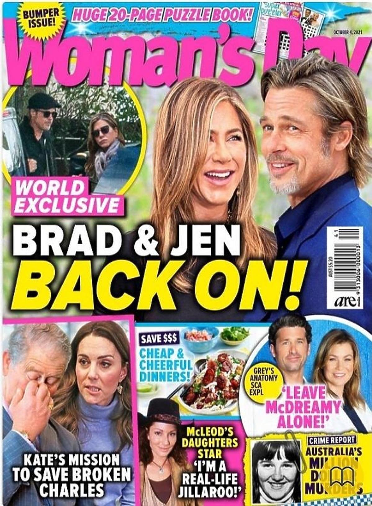 Jennifer Aniston i Brad Pitt znów razem