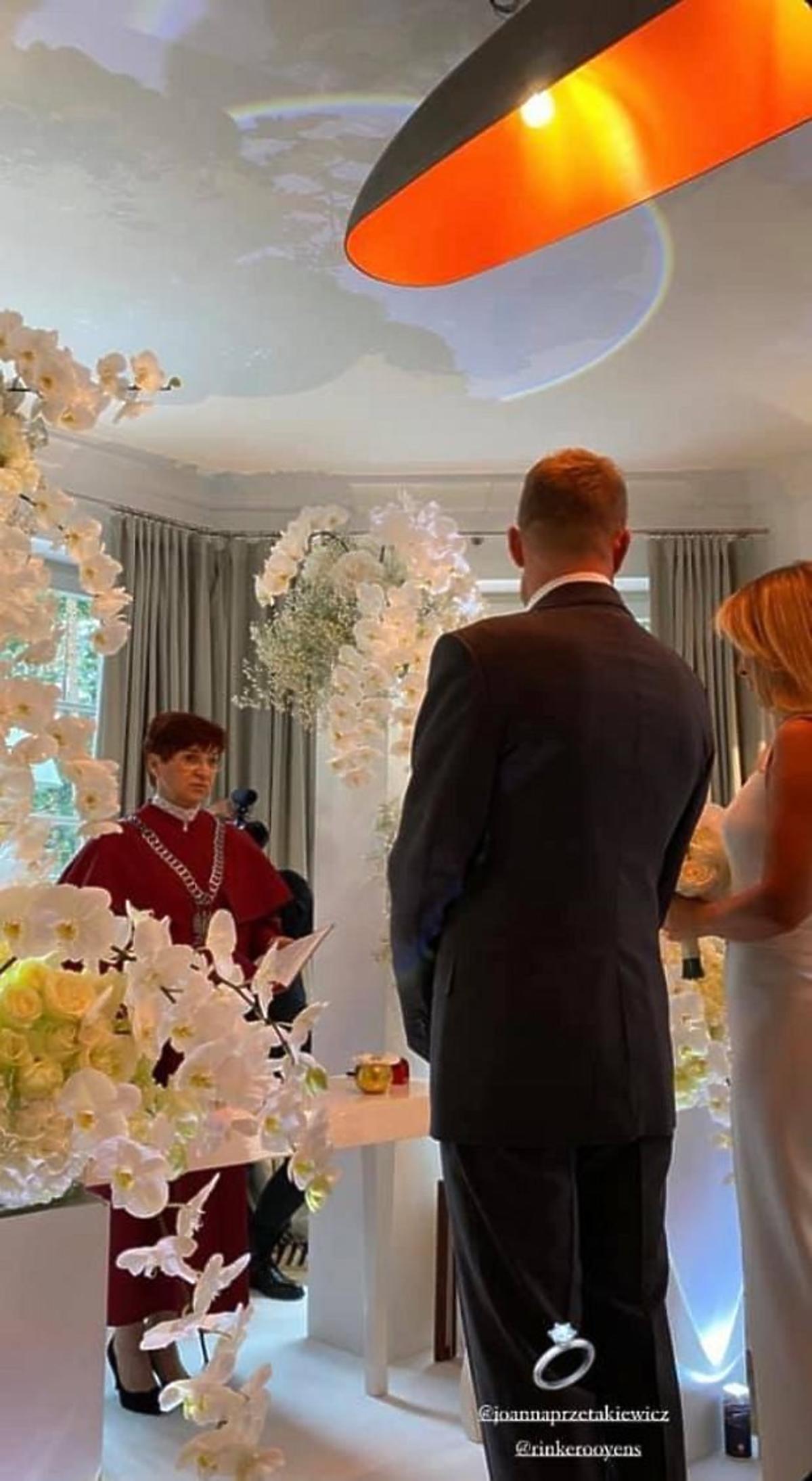 Joanna Przetakiewicz i Rinke Rooyens wzięli sekretny ślub