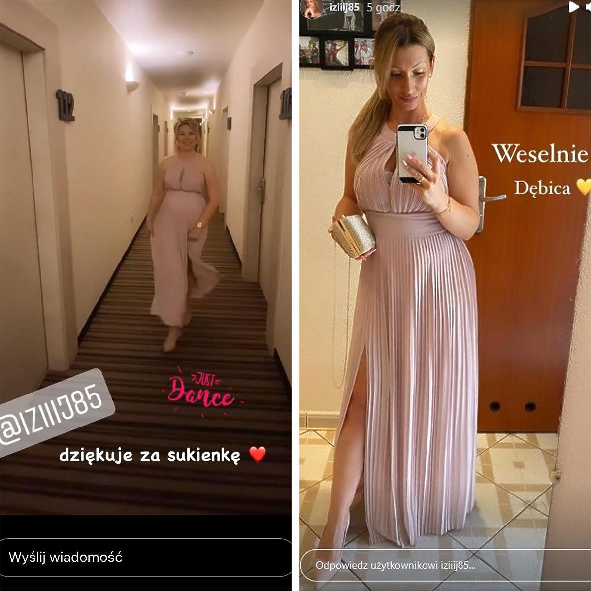 Joanna ze Ślubu od pierwszego wejrzenia pożyczyła sukienkę od Izy