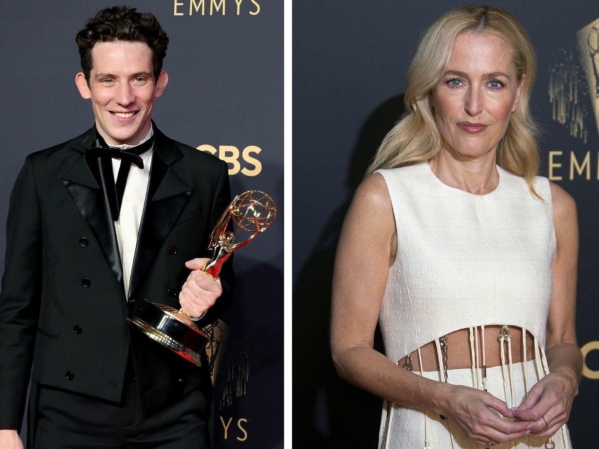 Josh O'Connor i Gillian Andersonna Emmy 2021