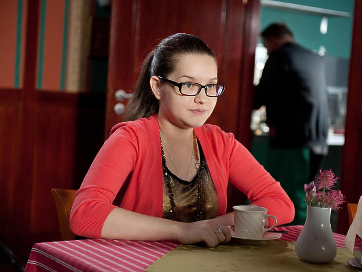"""Julia Chatys jako Kasia Berg w serialu """"Na Wspólnej"""""""