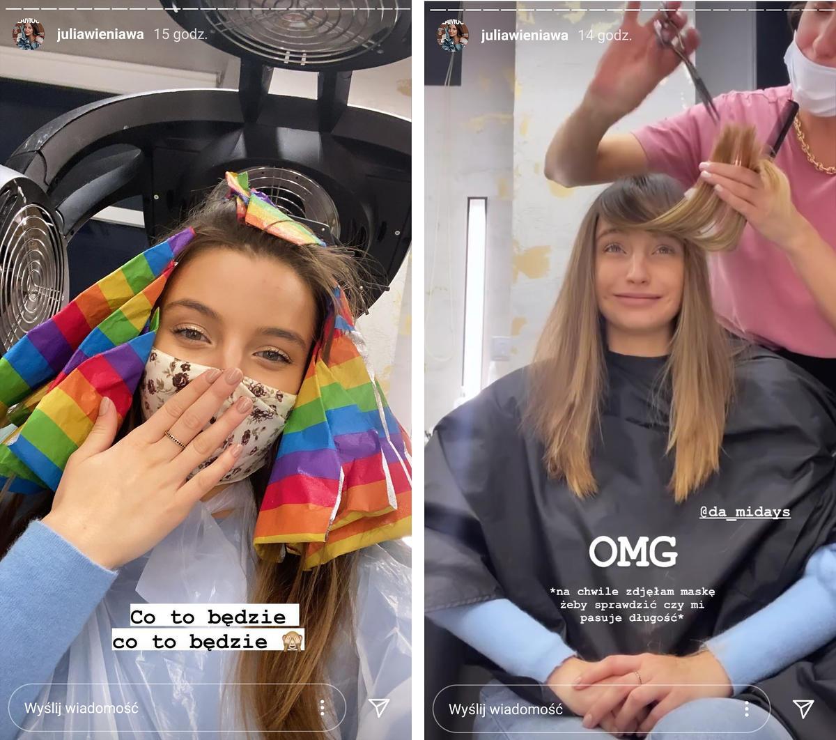 Julia Wieniawa skróciła i rozjaśniła włosy