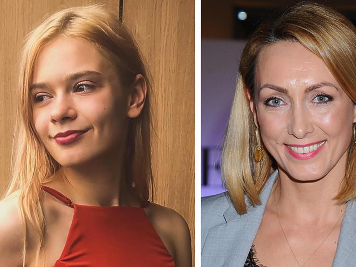 Julia Wróblewska zmieniła kolor włosów Anna Kleczyńska zmieniła kolor włosów