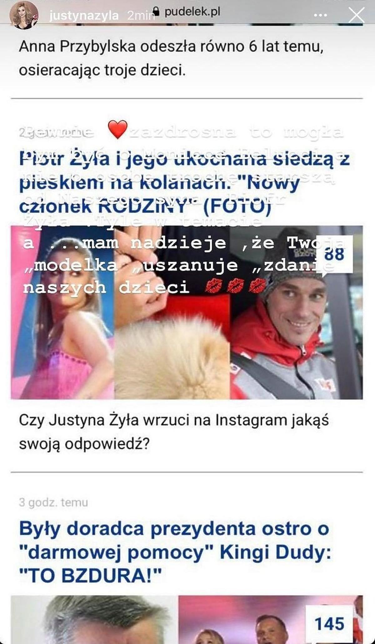 Justyna Żyła komentuje związek byłego męża