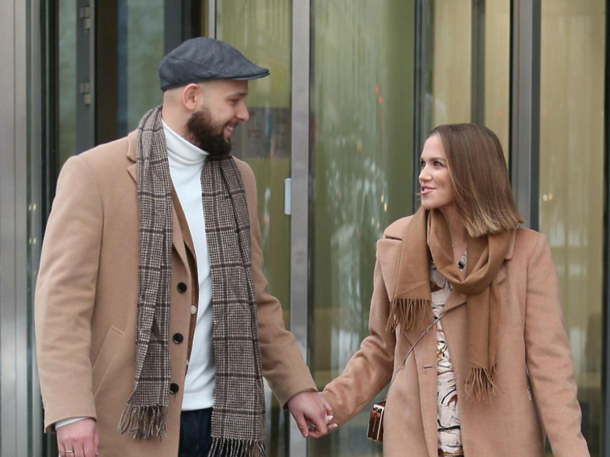 Kaczorowska -Pela z mężem