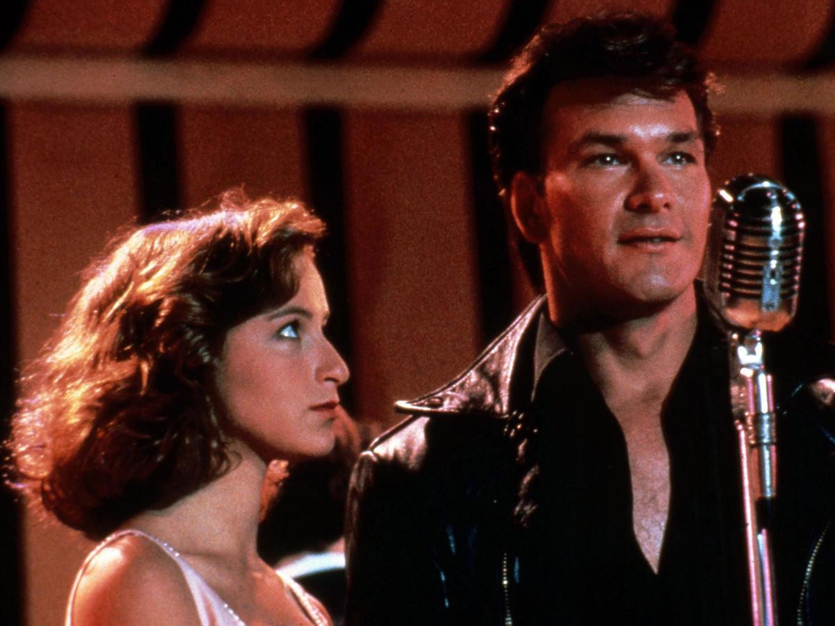 kadr z Dirty Dancing: Jennifer Grey i Patrick Swayze
