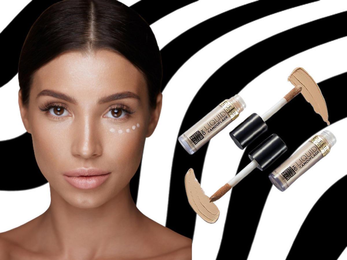 kamuflaż do twarzy - Eveline Cosmetics Liquid Control