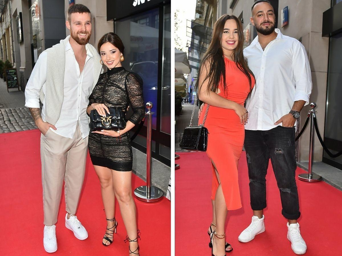 Kara iMarcin oraz Krystian Feretti z nową dziewczyną na premierze klipu Iluzja
