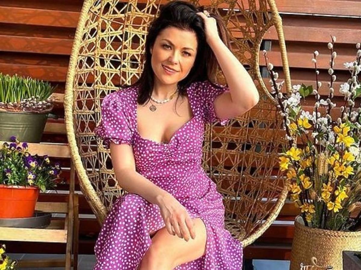 Katarzyna Cichopek w letniej sukience
