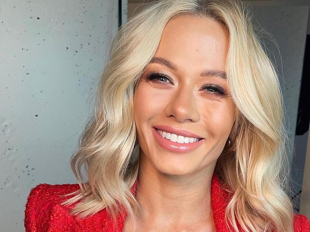 Katarzyna Dziurska, pochwaliła się na Instagramie nowym uśmiechem