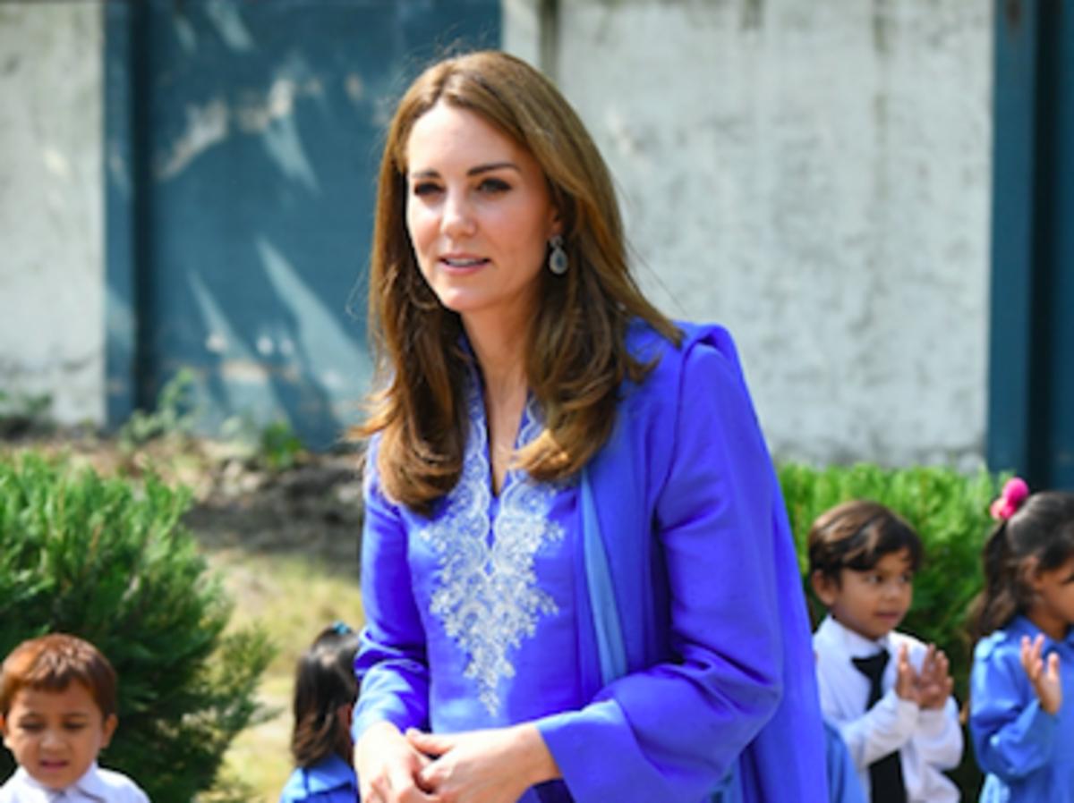 Kate Middleton w Pakistanie w butach z New Looka