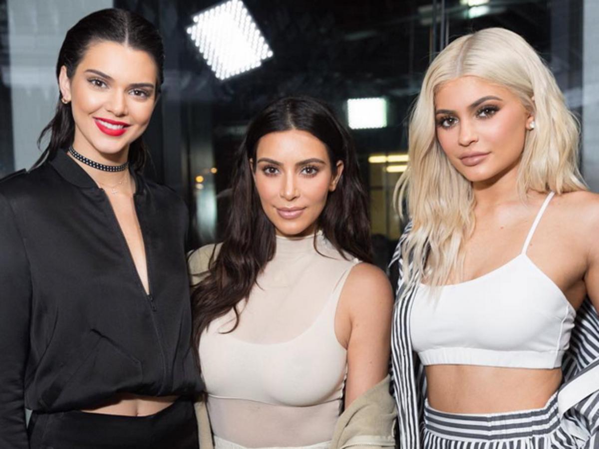 Kim Kardashian Kylie Jenner i Kendall Jenner