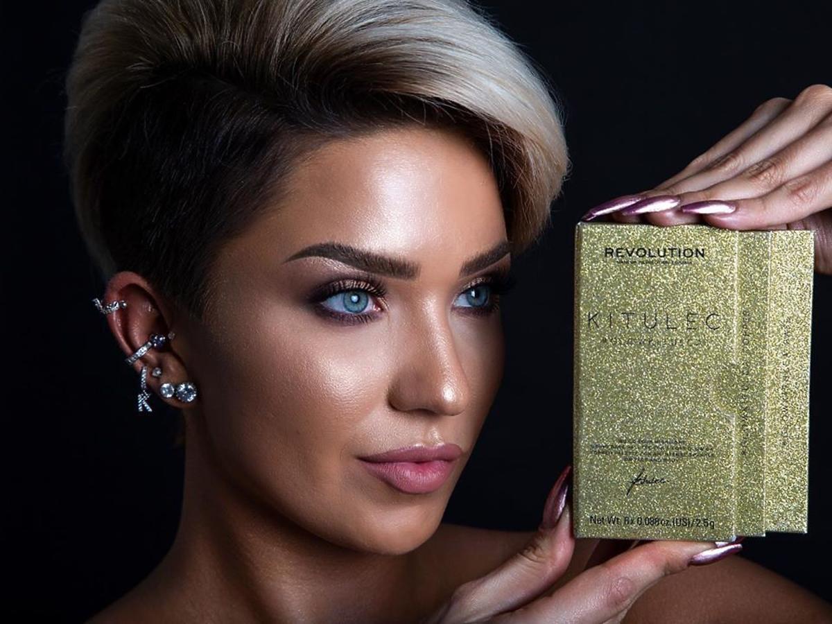 Kitulec stworzyła dla Makeup Revolution paletki cieni i rozświetlaczy