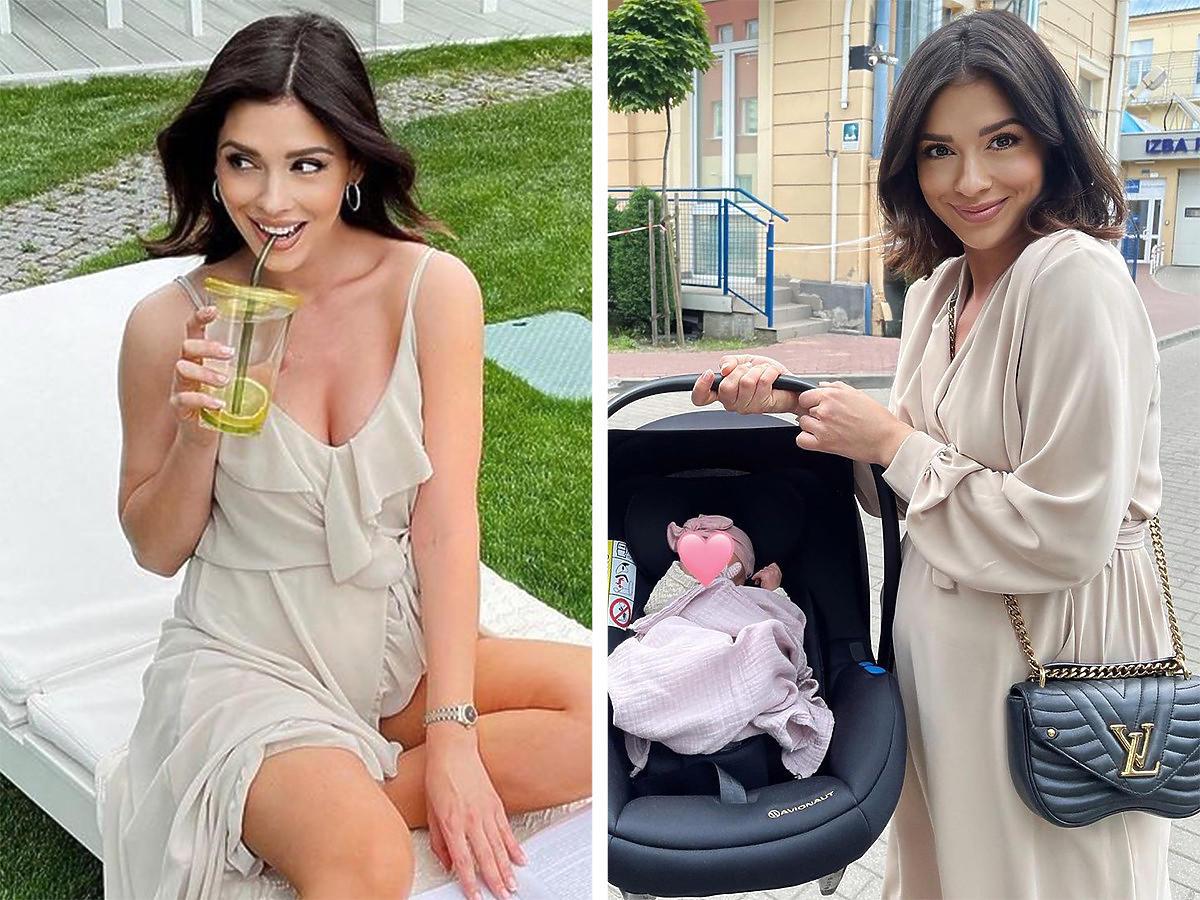Klaudia Halejcio pokazała nowe zdjęcie córki. Nel jest podobna do mamy