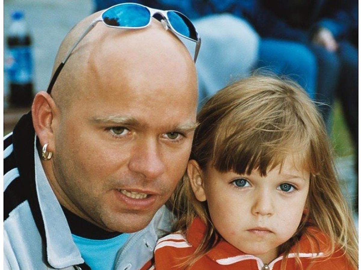 Klaudiusz Sevkovic z córką