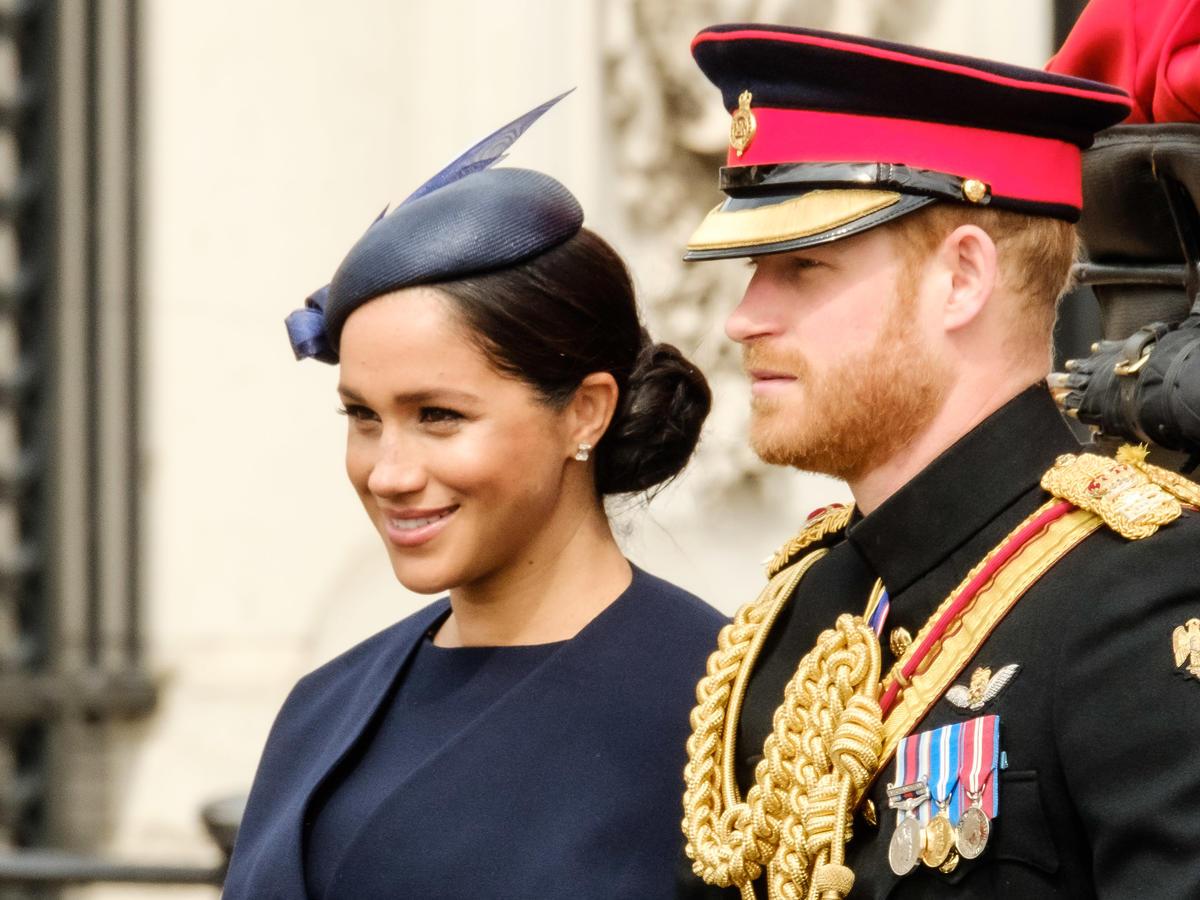 Kłótnia Meghan i Harry'ego na urodzinach królowej Elżbiety II