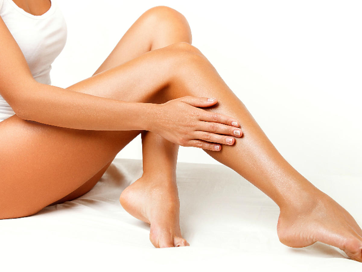kobiecie nogi