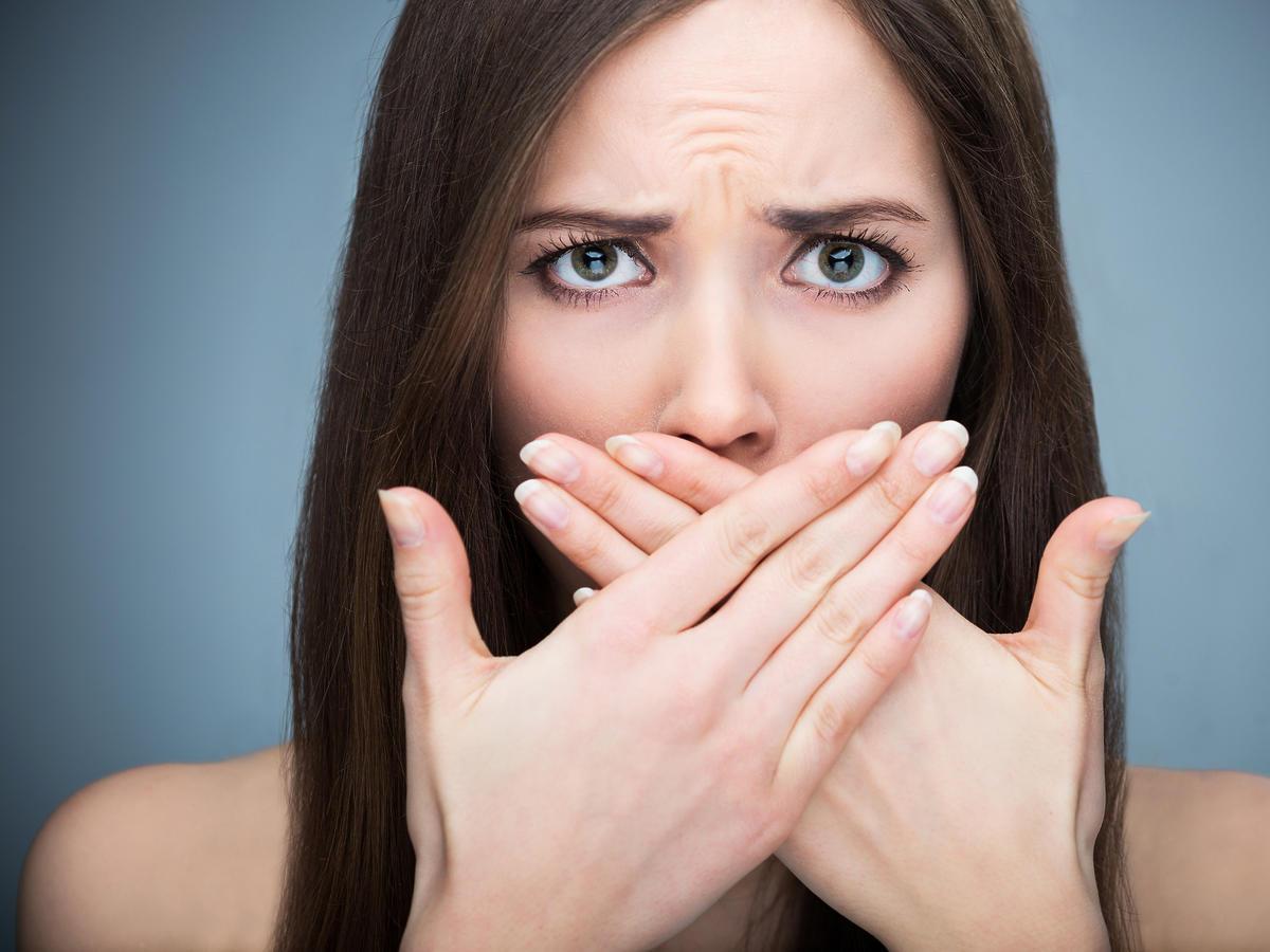 kobieta usta