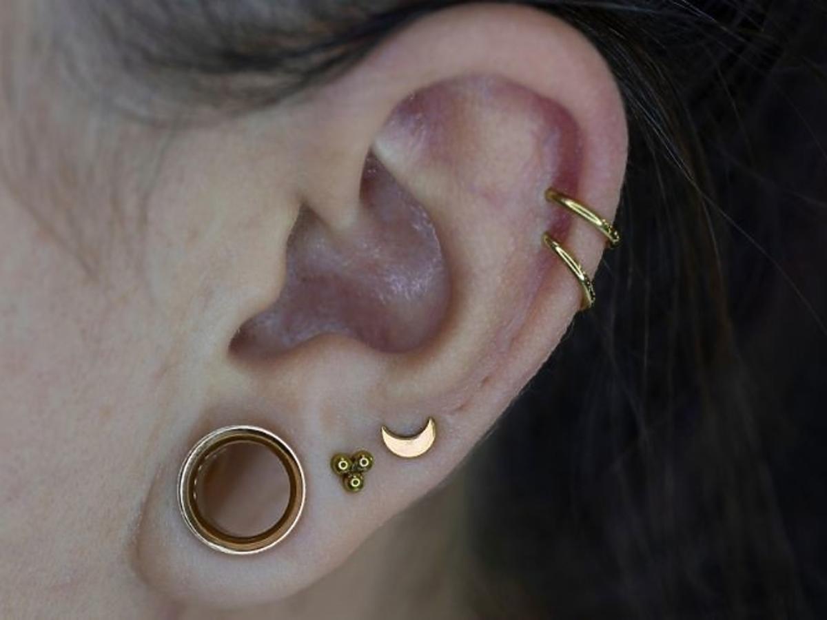 Kolczyk w uchu - nazwy