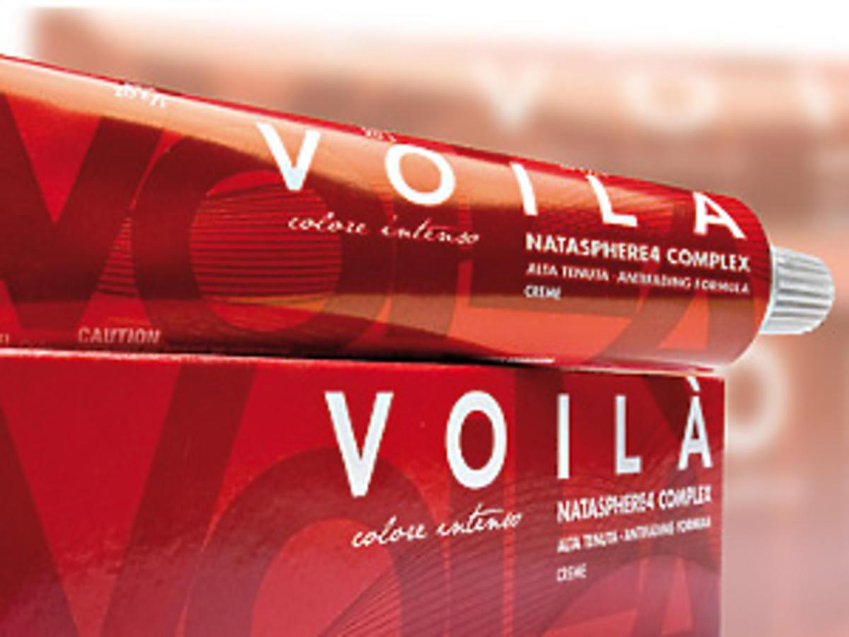 Koloryzacja włosów Voila