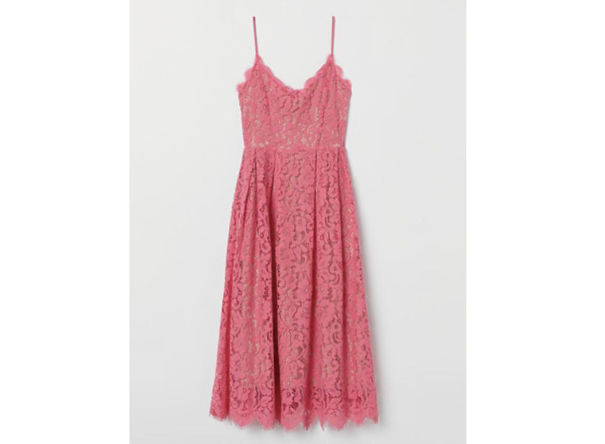 koronkowa sukienka z H&M za 129,99 zł