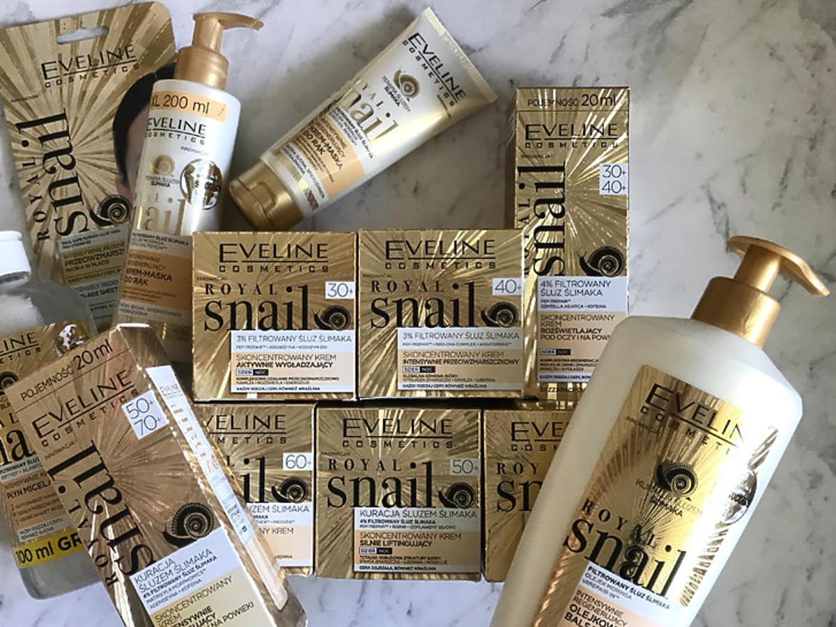 kosmetyki Eveline Cosmetics Royal Snail test redakcji
