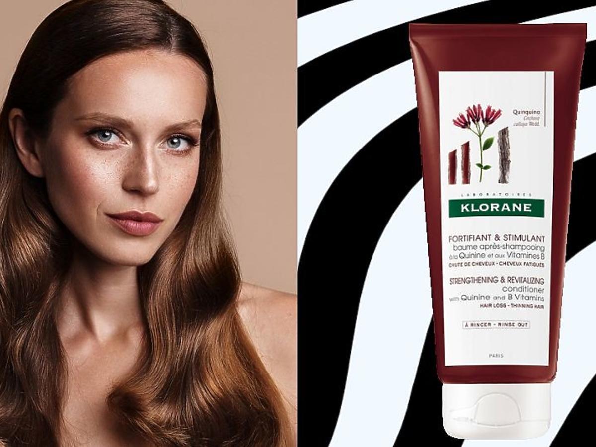 Kosmetyki na wypadanie włosów Klorane