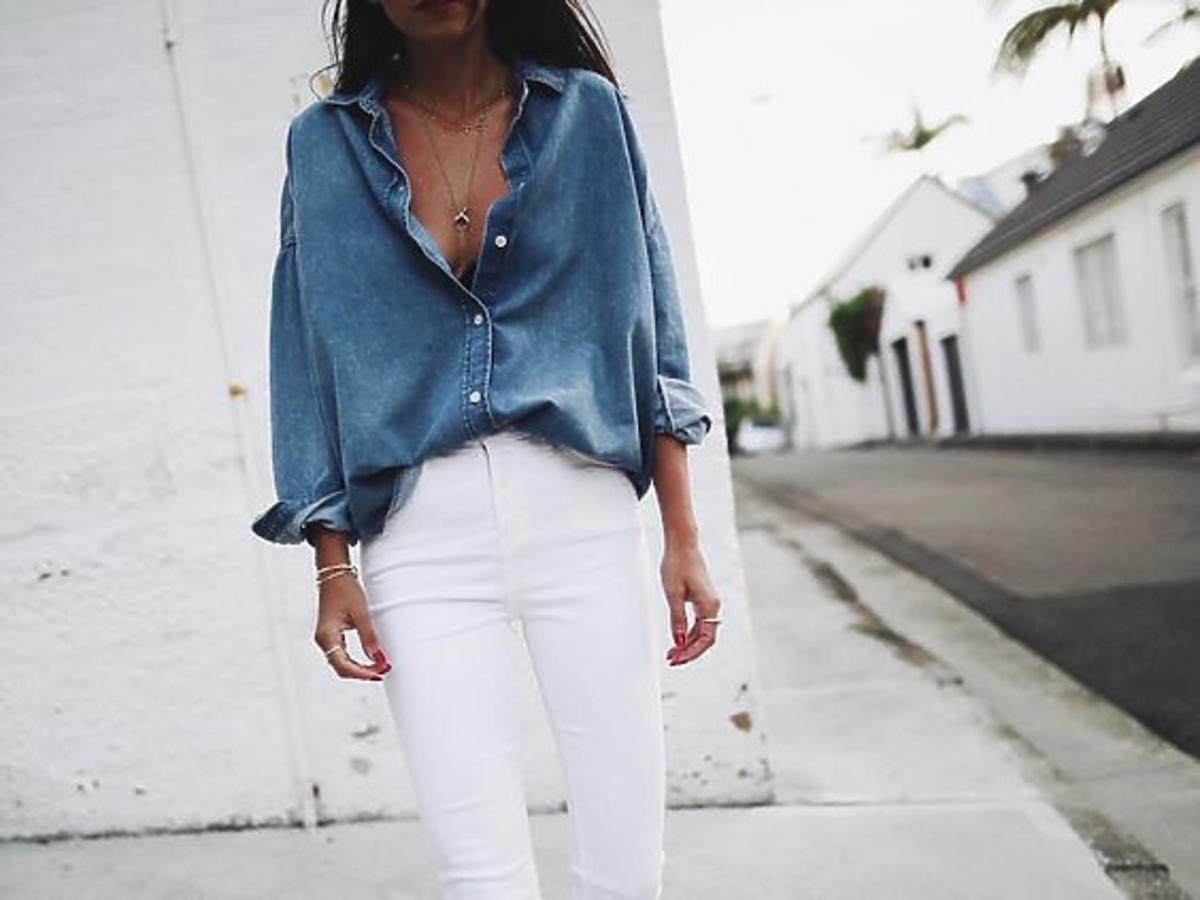 Koszula jeansowa z Lidla