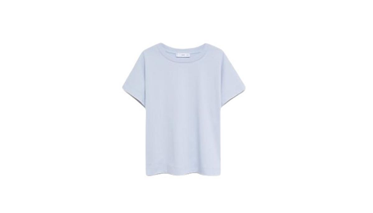 koszulka bawełniana z Mango