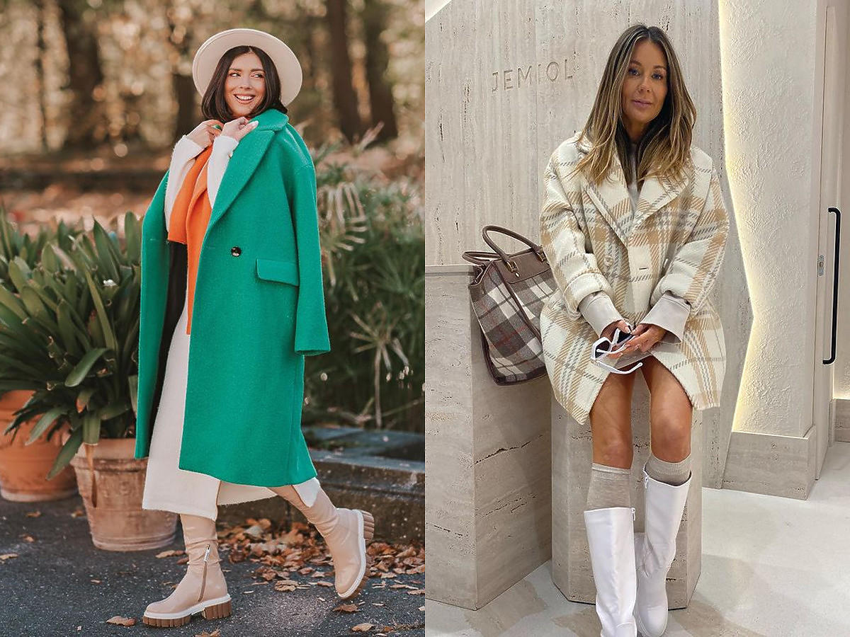 Kozaki damskie 2021 w najmodniejszym kolorze! Klaudia Halejcio i Małgorzata Rozenek noszą hitowy model. W CCC kupisz podobne