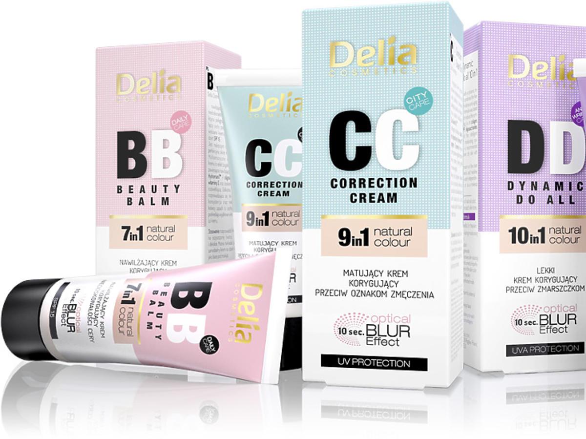 Kremy BB, CC i DD Delia Cosmetics