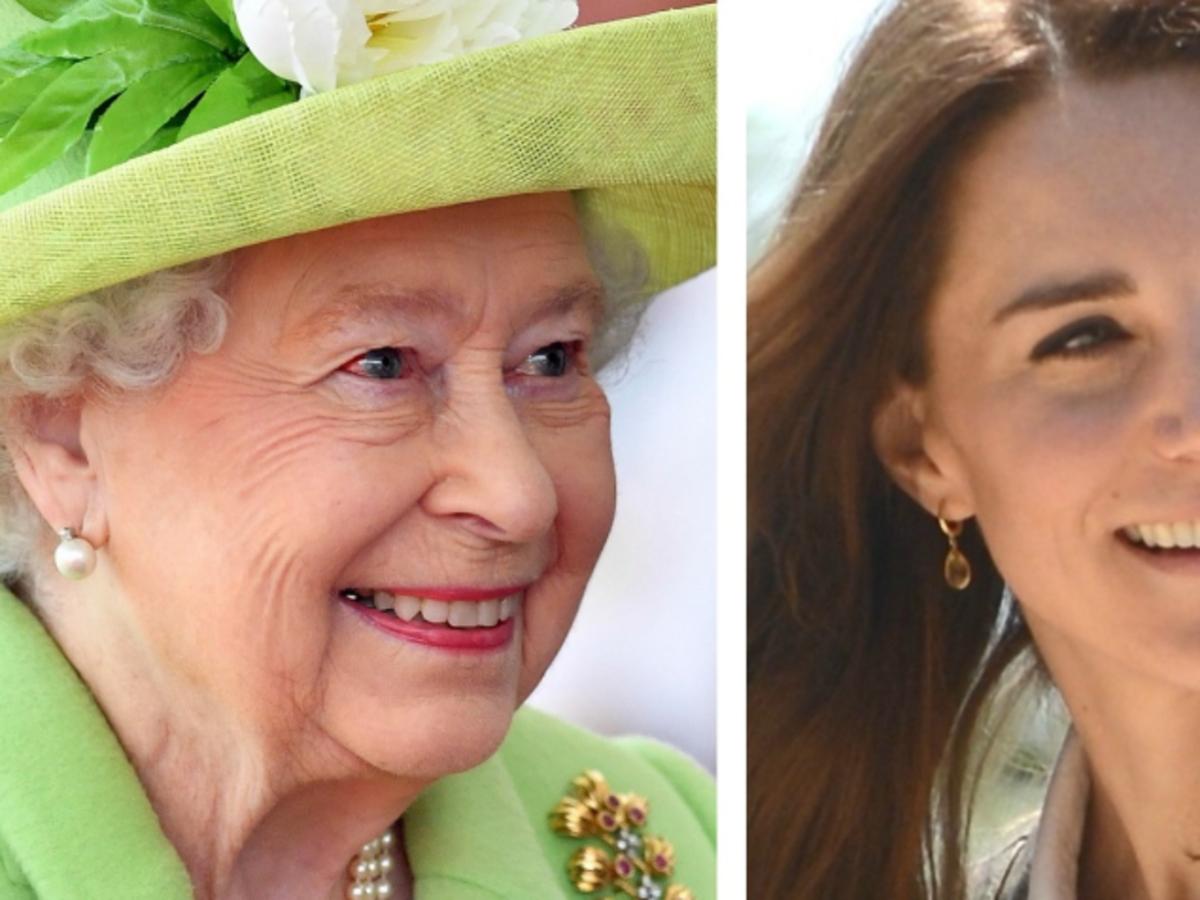 królowa elżbieta i kate middleton