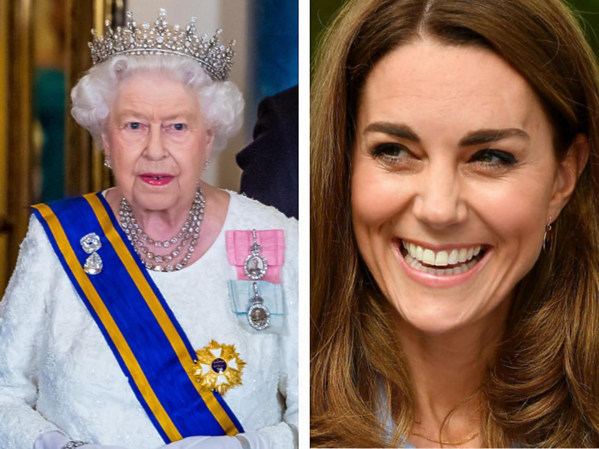 Królowa Elżbieta II chce specjalnie wyróżnić księżną Kate. Żona księcia Williama otrzyma od niej wyjątkowy prezent