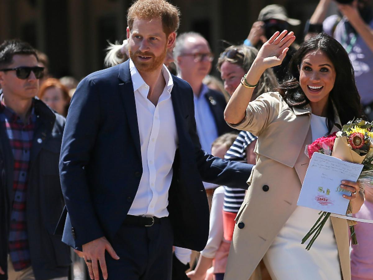 książę Harry i Meghna Markle w Australii