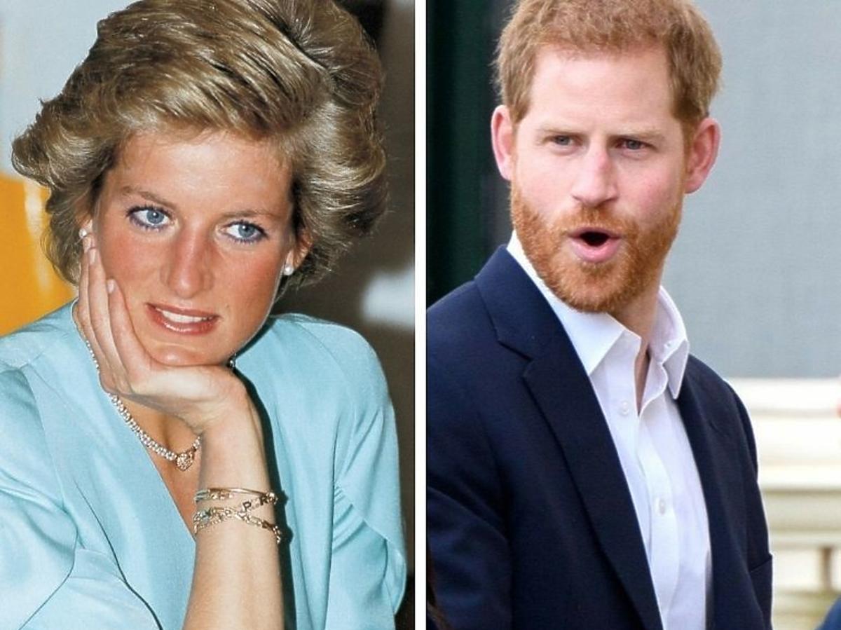 Książę Harry Księzna Diana
