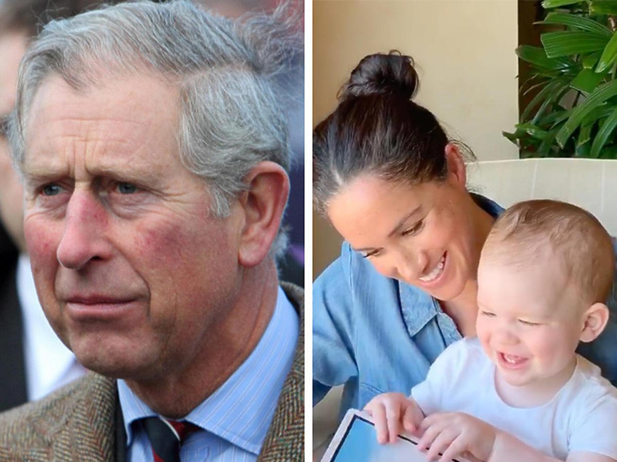 Książę Harry walczy z Meghan Markle o kontakt z wnukiem?