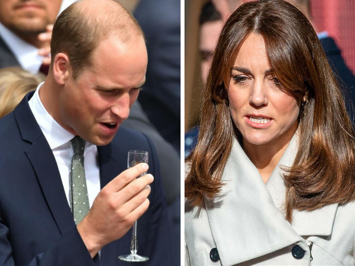 Książę William ma problem z nadużywaniem alkoholu?