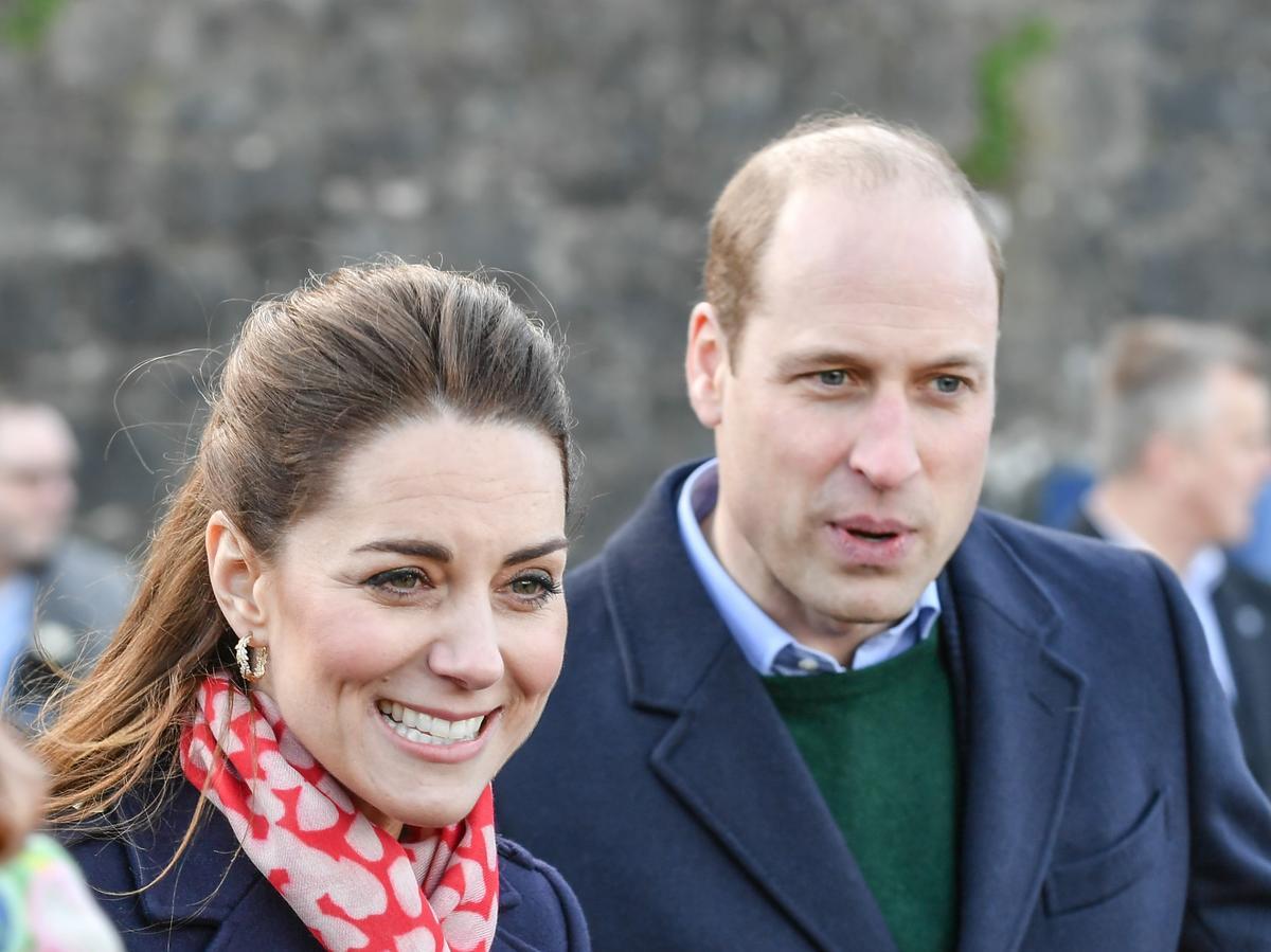 Książę William żartuje z koronawirusa