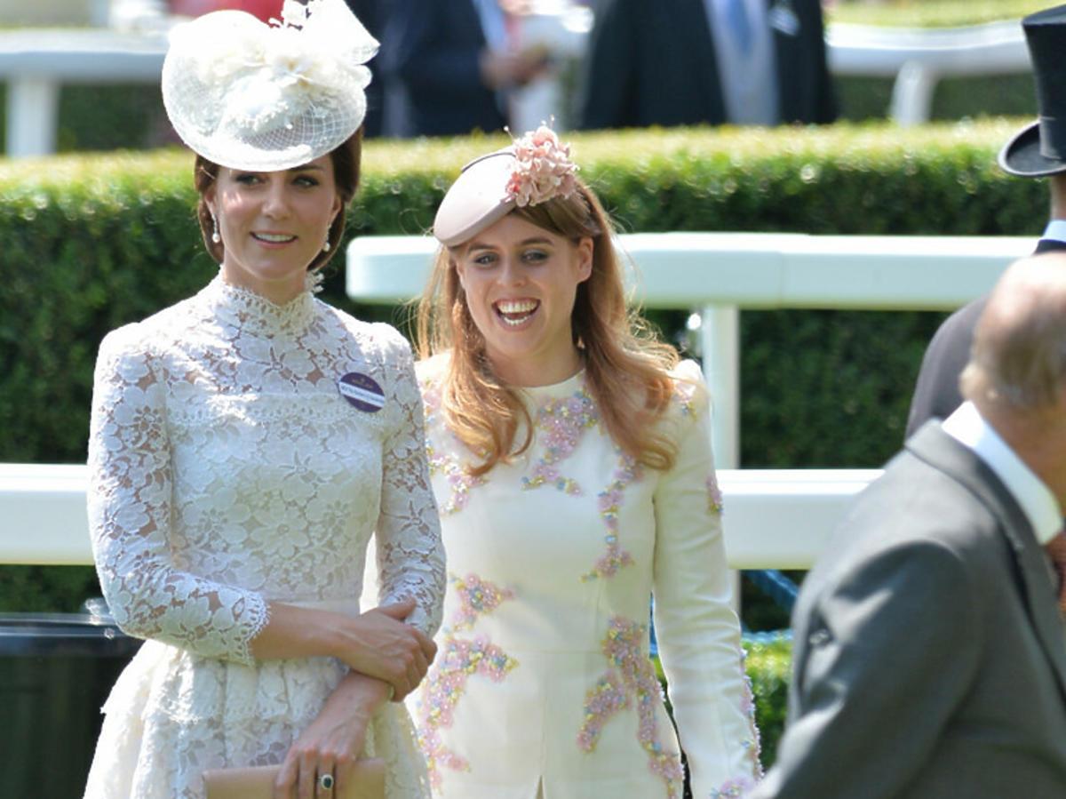Księżna Kate i Księżniczka Beatrycze
