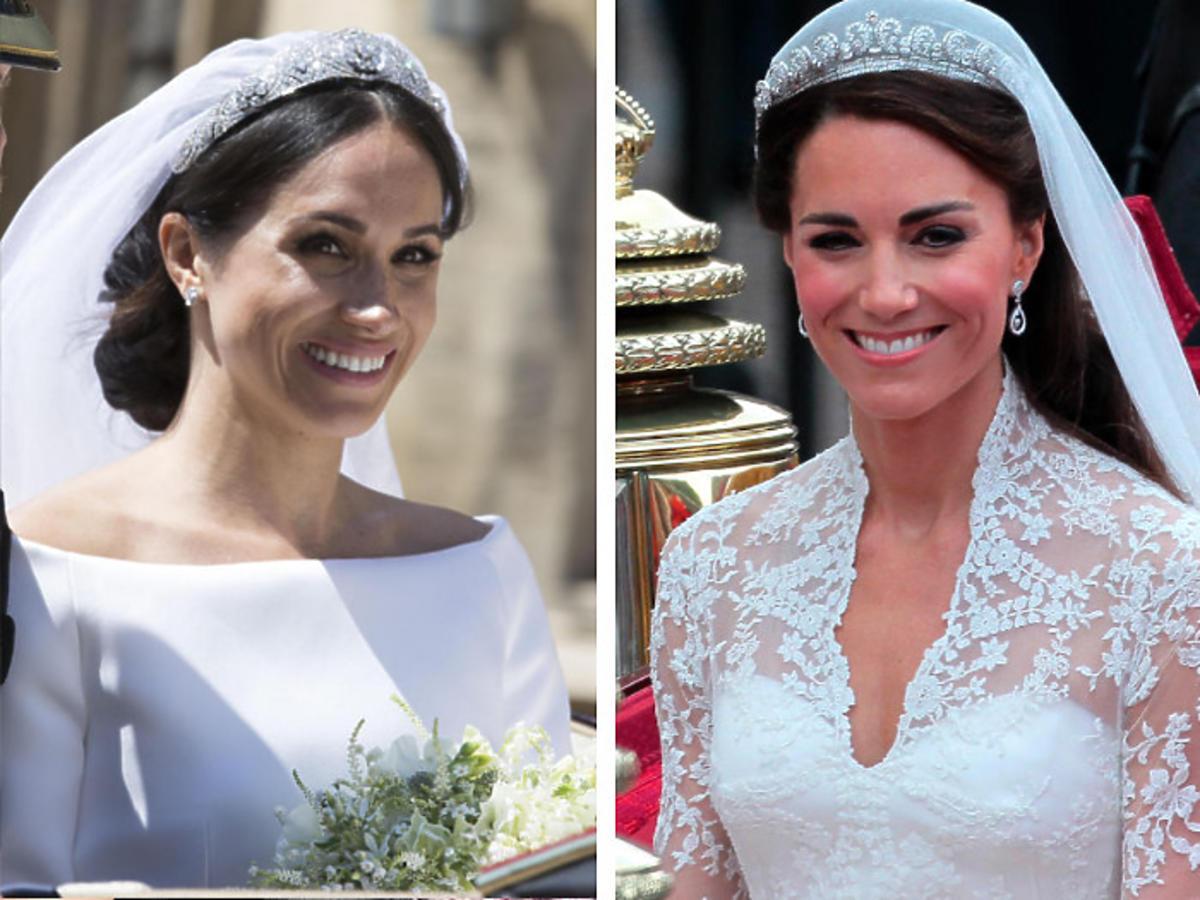 Księżna Kate i Meghan Markle nie miały dowolności w wyborze sukni ślubnej? Na jaw wyszły sekrety królewskich zaślubin