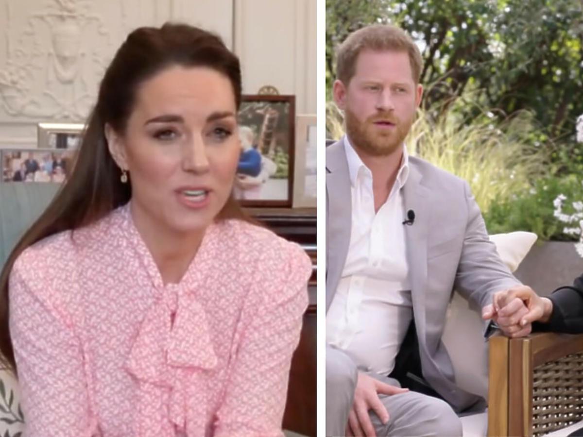 Księżna Kate skomentowała głośny wywiad Meghan i Harry'ego