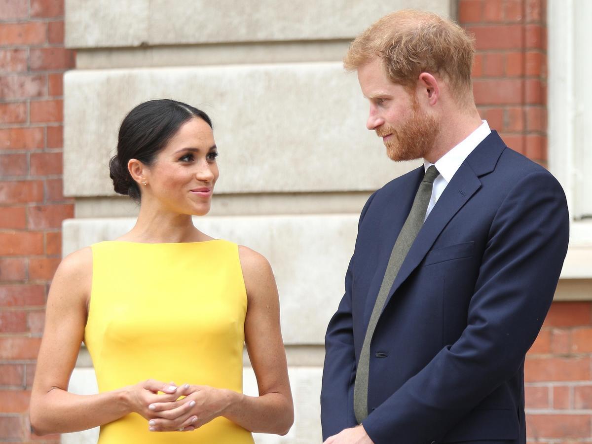 Księżna Sussex Meghan Markle książę Harry