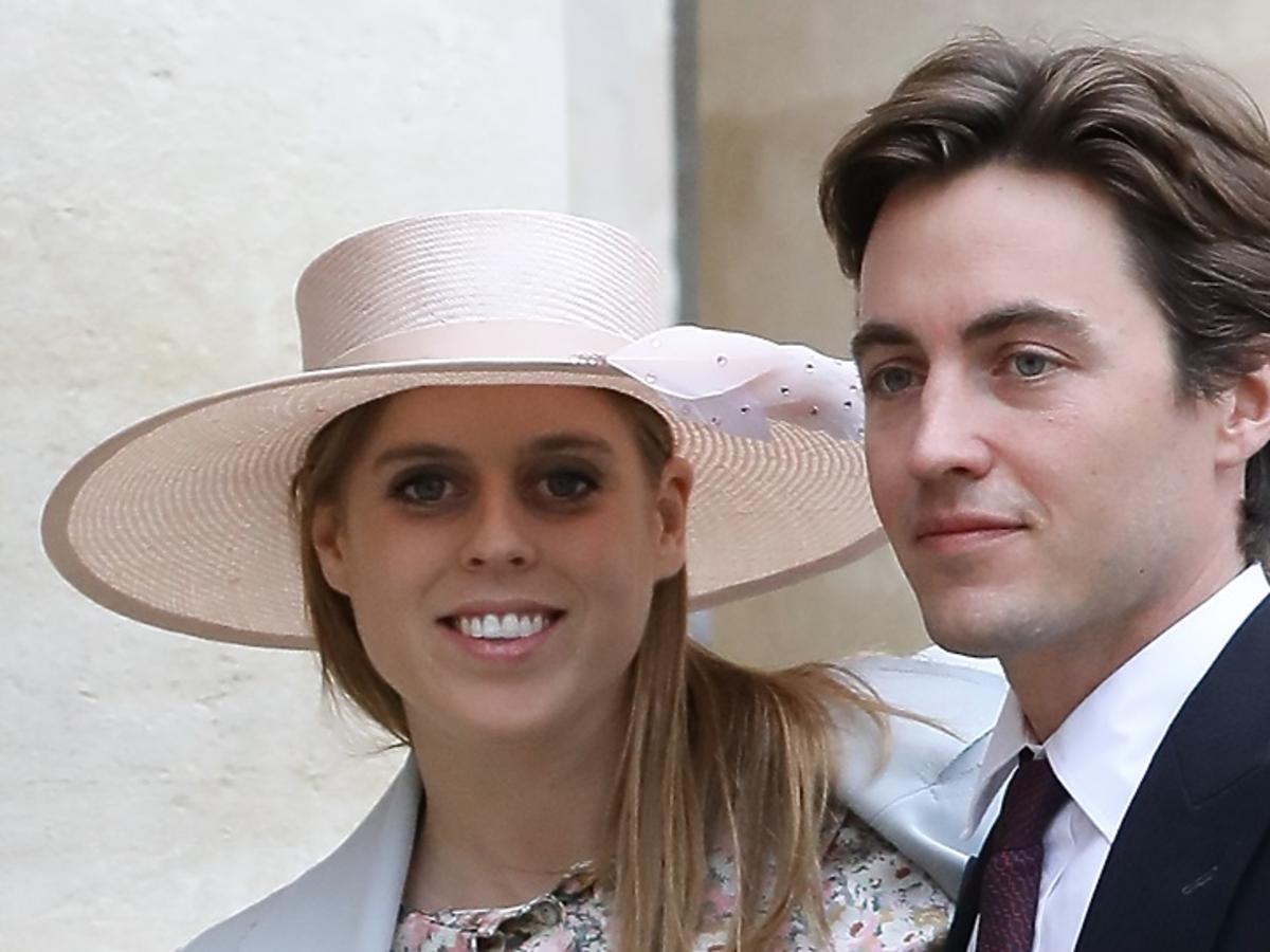 Księżniczka Beatrice i Edoardo Mapelli Mozzi wzięli ślub