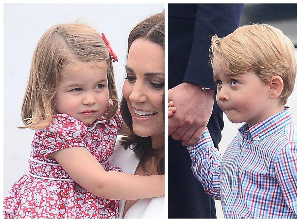 księżniczka charlotte i książę jerzy