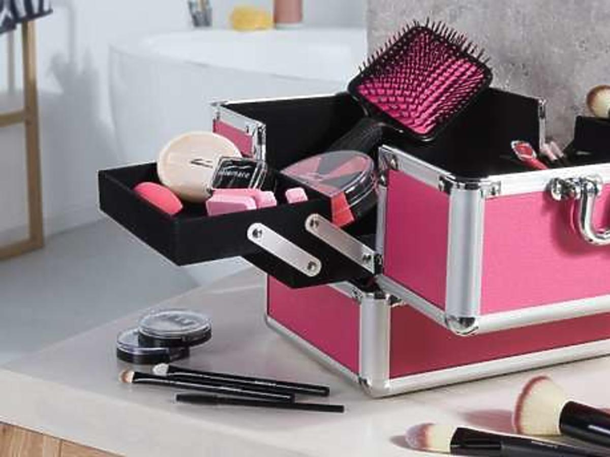 Kuferek na kosmetyki MioMare z Lidla