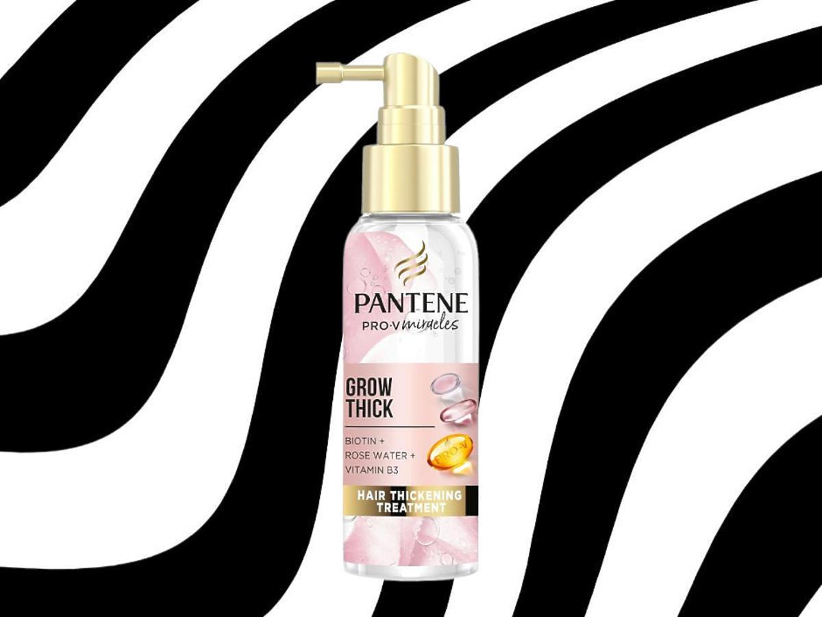 kuracja pogrubiająca do włosów - Pantene Grow Thick
