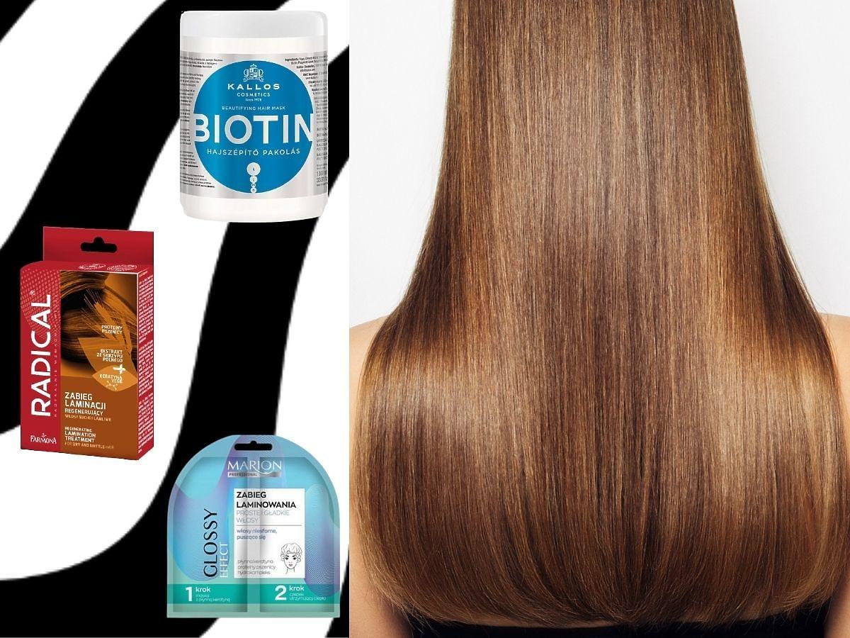 Laminacja włosów w domu - to 3 najlepszych produktów