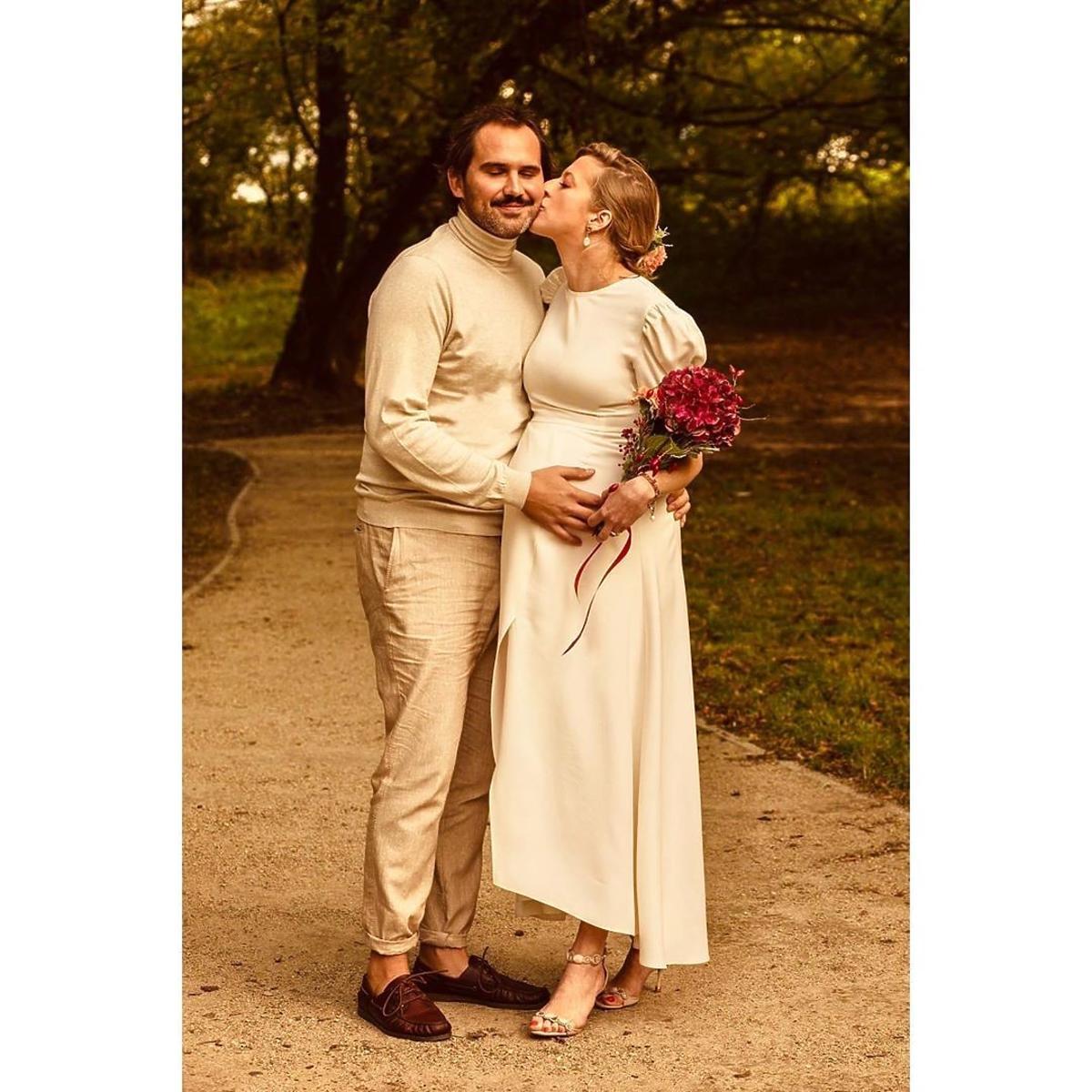 Lara Gessler poszła do ślubu w sukience za 259 zł